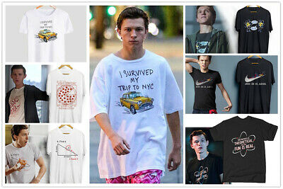 Tom Holland All T-shirts, Spider-Man Far From Home Find X Premium Cotton Tees