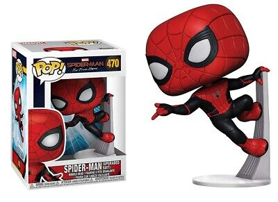 Funko Pop! Marvel Spiderman Far From Home Spiderman Upgraded Suit #470