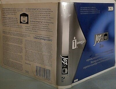 iomega Jaz 2 GB High capacity disk for PC in Factory Original pack