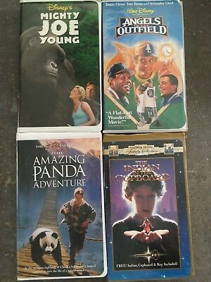 The Indian In The Cupboard Disney S Mighty Joe Young 2 Vhs Tapes