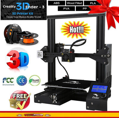 Creality3D Ender-3 Impresora 3D Prusa I3 DIY 3D Printer Kit 220x220x250mm ABS ES