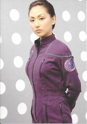 STAR TREK ENTERPRISE 8 X 6 INCH ART CARD No 5.7 -HOSHI SATO CHARACTER CARD