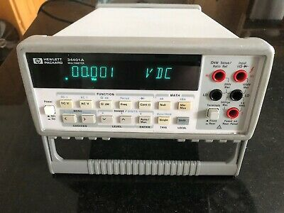 Agilent HP 34401A 6.5 Digit Multimeter UKAS Calibrated