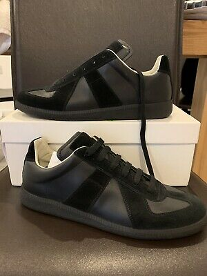 dd6fcbe2b1d MAISON MARTIN MARGIELA Sneakers Leather Mid Off White gats size US ...