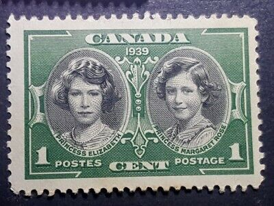1939 Royal Visit Canada 1 Cent Stamp - Queen Elizabeth never hinged nystamps