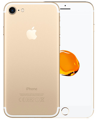 Iphone 7 32Gb Grado A/B Oro Gold Ricondizionato Rigenerato Originale Apple