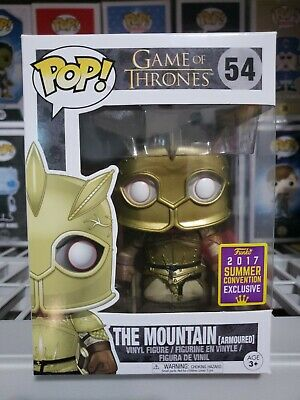 Funko Pop! The Mountain Golden Armoured SDCC READY to SHIP FAST free*