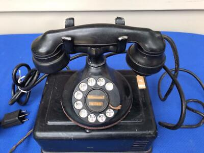 Vintage Antique Western Electric Telephone 102-B1,E1 Handset, 634-BC Ringer Box