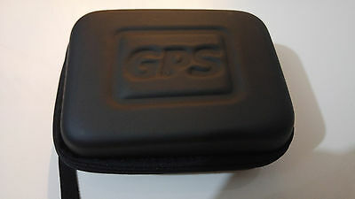 Black Hard Carry Case for GPS with Hand Loop - Also ideal for cameras, iPod, etc