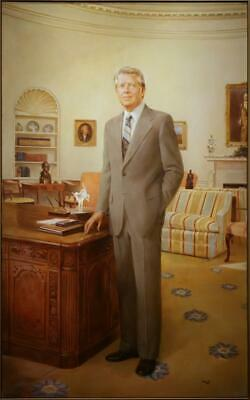 JIMMY CARTER PORTRAIT GLOSSY POSTER PICTURE PHOTO president james humanity 1279