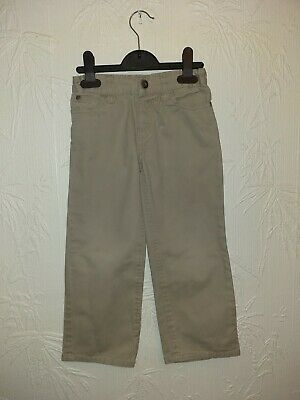 Cream Boys Denim Jeans Smart Summer Trousers 4 - 5 Years