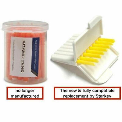 Starkey Hear Clear Hearing Aid Wax Guards. 48 Filters Total. *USA SELLER*