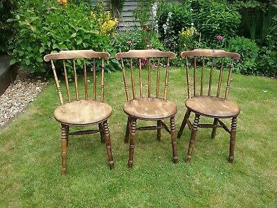 Swedish Ibex Windsor penny dining kitchen chairs  x 3