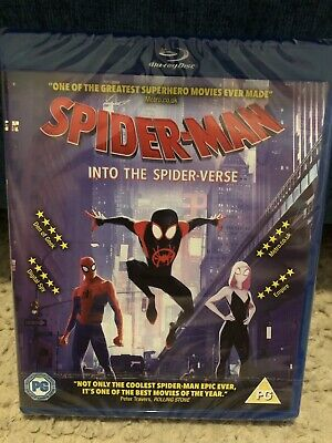 SpiderMan into the Spider-Verse (Spiderverse) - Blu Ray