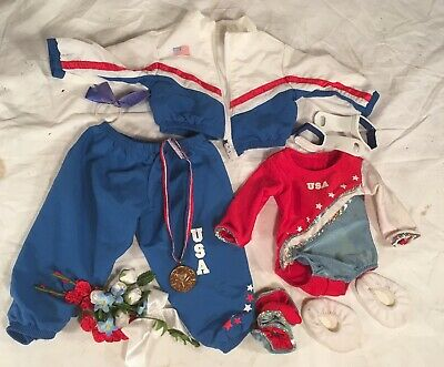 American Girl Today Patriotic Gymanastic Olympics Sport set (Retired)