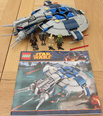 Droid Gunship Neu No PARTS LEGO BAUANLEITUNG Star Wars 75042