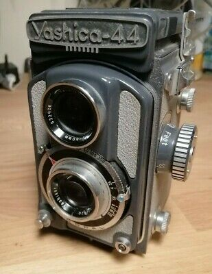 Yashica 44 A TLR - 127 Rare Vintage Medium Format Camera - Working - Excellent