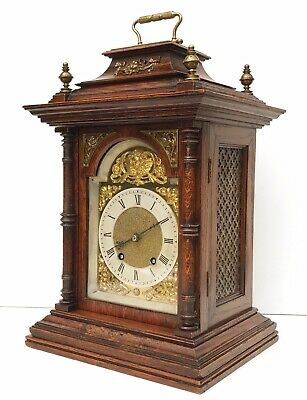Lenzkirch Striking Oak Bracket Clock