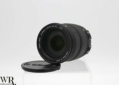 Objectif Lens Zoom Sigma 18 - 200 mm 1: 3.5 - 6.3 DC OS Monture Canon