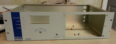 FM Broadcast Transmitter Case No Electronics just the empty rack unit Used parts