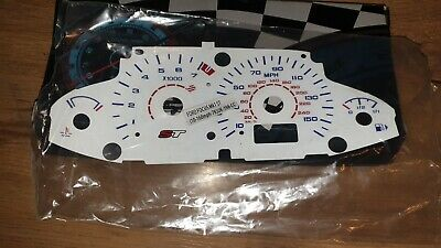 Ford Focus St 170 Mk1  Speedo Dash Panel Bulb Lighting White Dial Kit Track Day