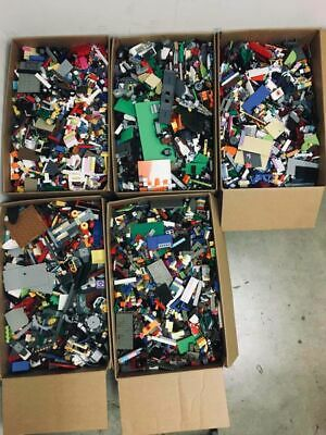 Lego 1-99 Pounds LBS Parts & Pieces HUGE BULK LOT bricks blocks pound
