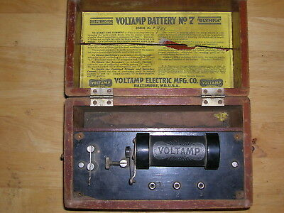 Voltamp Battery No.7  - Quack Device - Shock Therapy