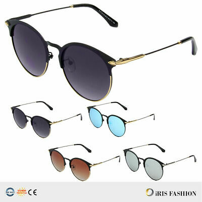 729876579 VINTAGE RETRO Men Women Glasses ROUND Metal Frame Gradient Sunglasses  Eyewear