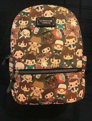 NEW LOUNGEFLY X NETFLIX Mini Backpack STRANGER THINGS Chibi