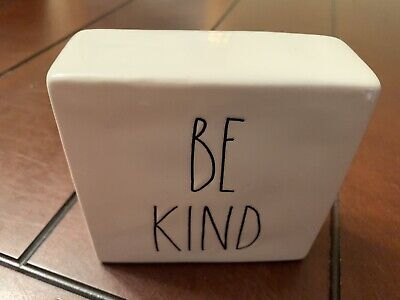 Rae Dunn Artisan Collection By Magenta Be Kind Stay Humble Paper Weight 174