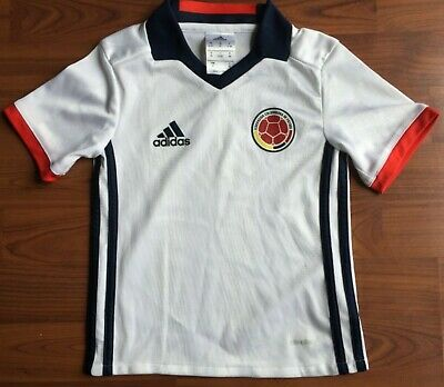 741ecc51efb813 Adidas Youth 2016 Colombia National Team Home Soccer Futbol Jersey Boys  Size 3T