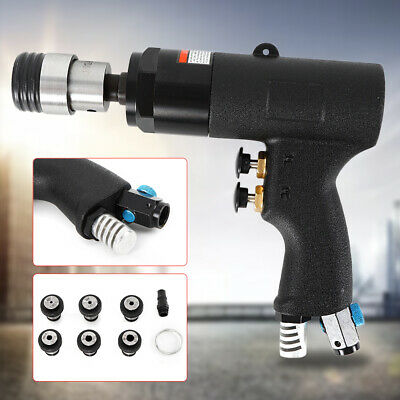 400rpm Hand Pneumatic Tapping Machine Air Drill Tapper 3-16mm Clamping Range USA