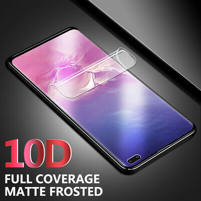 9D Hydrogel Film Matte Screen Protector For Samsung Galaxy Note 10 Plus S10 S9/8