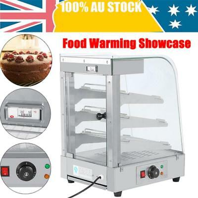 Commercial Pie Egg Food Warmer Hamburger Pizza Hot Display Showcase Cabinet1.3KW