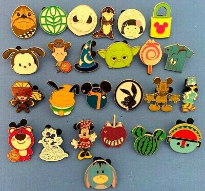 25 Disney Trading Pin Lot No Random Pins Get What You See In Photo Authentic