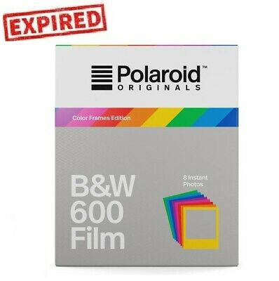 EXPIRED - Polaroid Originals B&W Color Frames 600 OneStep 660 636 Instant Film