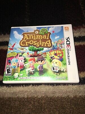 Animal Crossing: New Leaf (Nintendo 3DS, 2013)CIB