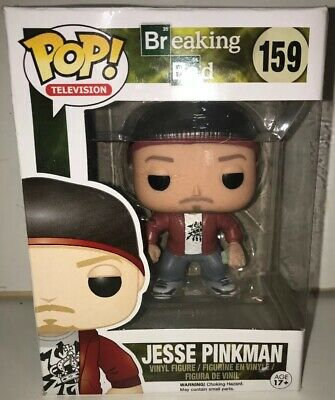 Funko Pop! Television: AMC Breaking Bad - Jesse Pinkman #159 USED QUICK SHIP