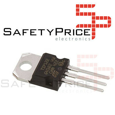 6x TIP122 Transistor NPN TO-220 100V 5A Darlington