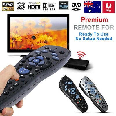 Aussie Foxtel Remote Control Replacement For Pay TV Sky New Zealand Mystar Black