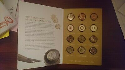 2018 $2 30th Anniversary of the $2 Coin 12  Coin  set