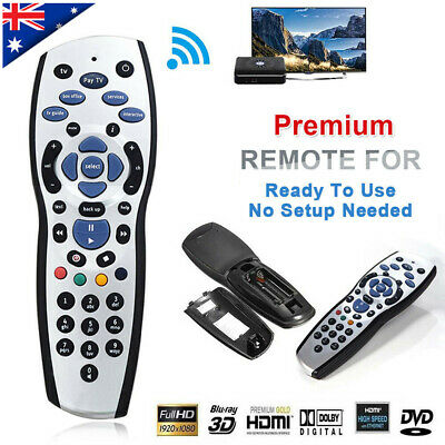 Replacement AU Aussie Foxtel Replacement Remote Control For HD PayTV IQ2 IQ3