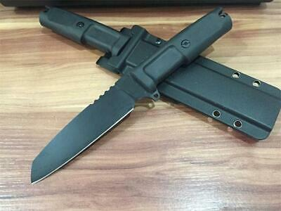 11'' New ABS Handle 5MM 440 Blade Dagger Survival Bowie Hunting Knife VTH42