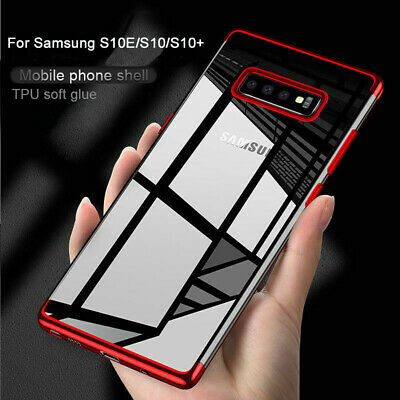 For Samsung Galaxy S8 S9 S10 Plus 5G Luxury Slim Shockproof Silicone Case Cover