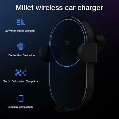 For Xiaomi Wireless Car Charger Smart 20W Electric Sewing Automatic Locking Brac