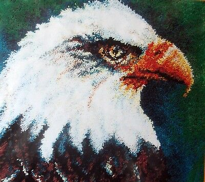 "Mcg Textiles Bird Latch Hook  Rug   Kit "" An Eagle Rug"""