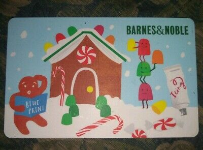 Barnes & Noble Used Collectible Gift Card NO VALUE Gingerbread House