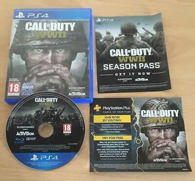 Call of Duty WWII (PS4) World War 2 Free Postage