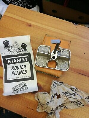 Vintage Stanley No.271 Router Plane in very good condition