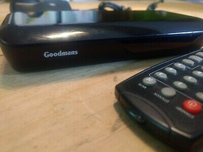 Goodmans [ GDB18FVZS2 ] Freeview Digital Set Top Box with remote Dual Scart